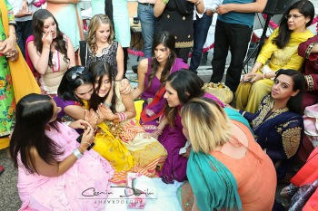 Justina Sewak East Indian Wedding Photography Punjabi Rituals Ladies Sangeet Jaago Mehndi Maiya Choora 55.jpg